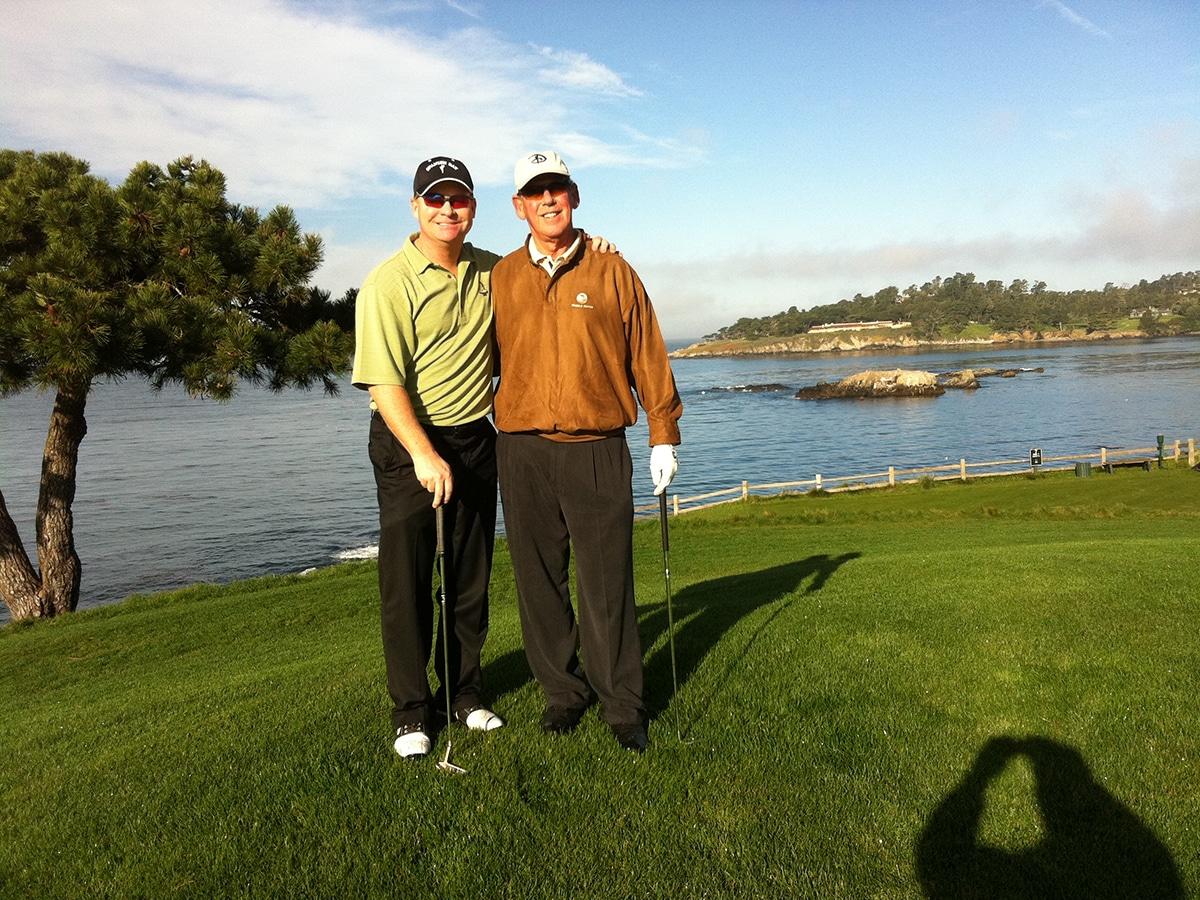 Brad Duncan Golfing
