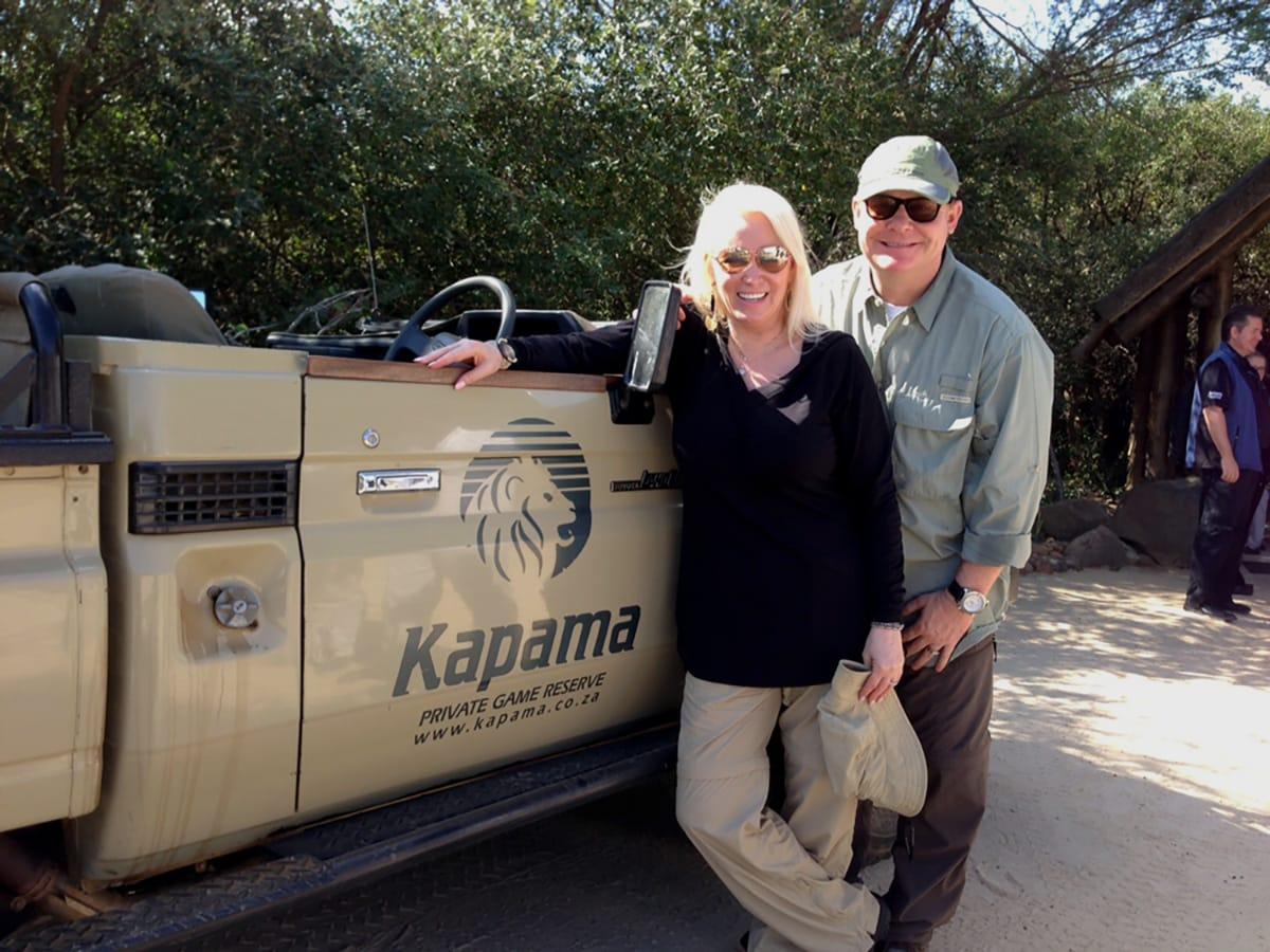 Brad and Julie Duncan Safari
