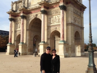 Brad and Julie Duncan Travel Abroad