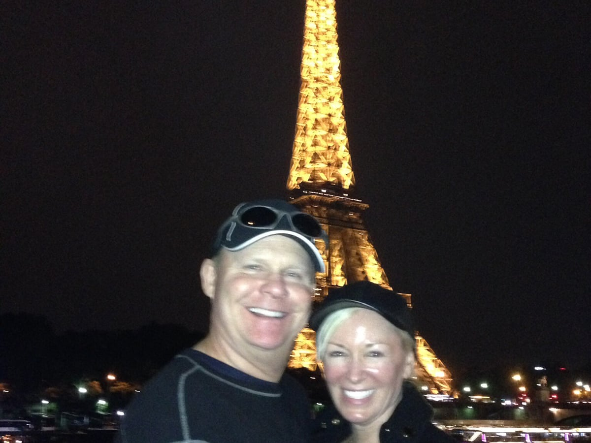 Brad and Julie Duncan Eiffel Tower