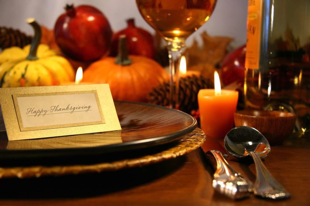 Thanksgiving Table - random acts of kindness
