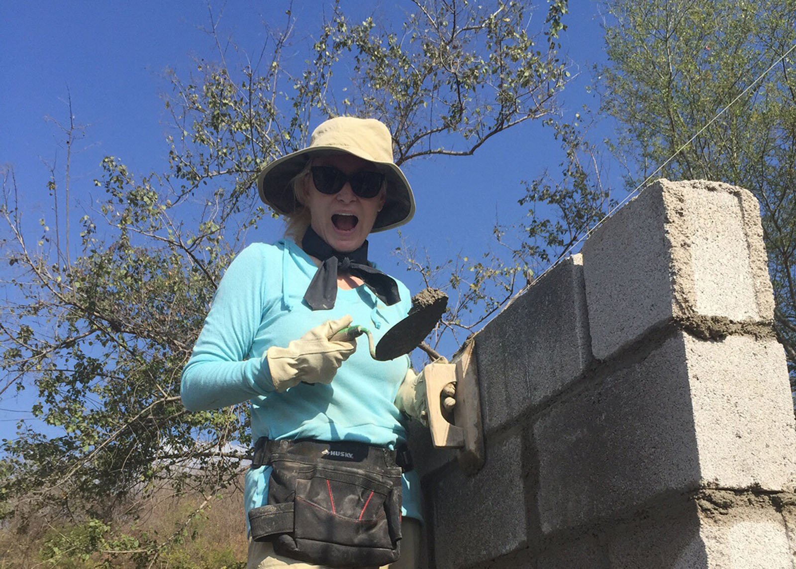Julie Duncan Cementing Bricks